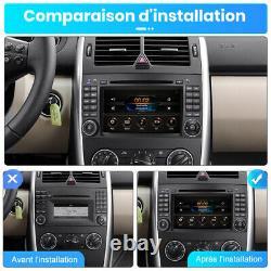 Autoradio GPS Pour Mercedes Benz Viano Vito A B Class W639 W169 NAVI DVD DAB+