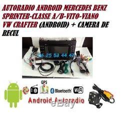 Autoradio Gps Dvd Usb Android MERCEDES VITO-VIANO-SPRINTER + VOLKSWAGEN CRAFTER