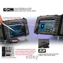 Autoradio Mercedes A/B Class W169 W245 Viano Sprinter Vito GPS BT 3G DVD TNT SD