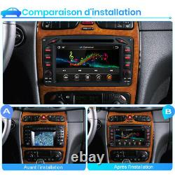 Autoradio Pour Mercedes-Benz C/CLK/G Class W203 W209 Vito Viano DAB+ DVD GPS BT