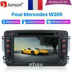 Autoradio Pour Mercedes-Benz C/CLK/G Class W203 W209 Vito Viano DAB+ DVD SAT BT
