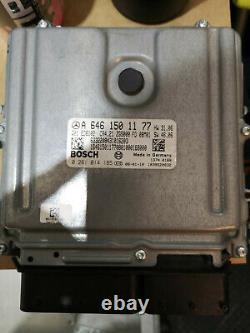 Calculateur moteur ECU pour MERCEDES vito 109 cdi de 2008 ref A6461501177