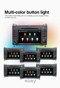 Caméra+ Autoradio GPS Navi DVD pour Mercedes Benz Viano Vito A B Class W639 W169