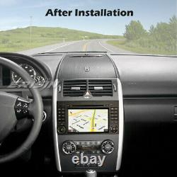 DAB+Autoradio Android 10.0 for Mercedes Benz Class A/B Vito Sprinter 64GB ROM