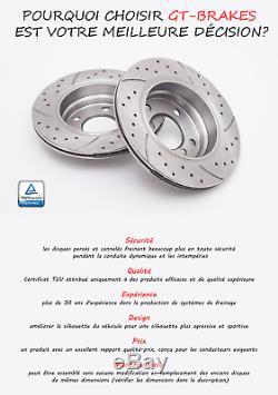 Disques De Frein Avant Gt1441 Mercedes-benz Vito Viano W639 2003-2013 Ø300