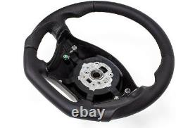 Échange Aplati Volant en Cuir Noir Volant Mercedes Viano W639