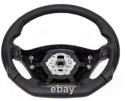 Échange Aplati Volant en Cuir Noir Volant pour Mercedes Viano W639