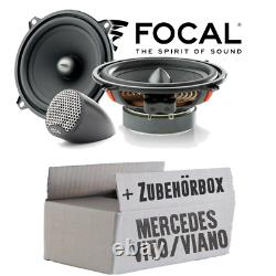 Haut-Parleur pour Mercedes Vito Viano W639 Aile Avant Boxe Focal Voiture Montage