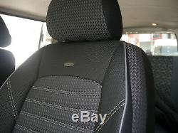Housses de siège protecteur Mercedes Vito Viano W639 deux sièges simples