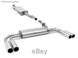 Inox Système Duplex Mercedes Vito & Viano W639 V639 Court Chaque 2x80mm Long