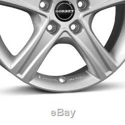 Jantes Borbet CWD 7.0x17 ET51 5x112 SIL pour Mercedes Viano Vito V