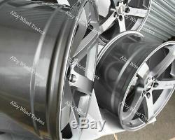 Jantes en Alliage X4 18 GM Hélice pour Mercedes V-Class Viano Vito W638 W639