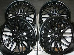 Jantes en Alliage X4 18 M Noir 190 pour Mercedes R Classe W163 W164 W166 W251