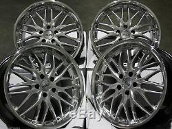 Jantes en Alliage X4 19 Argent 190 pour Mercedes V-Class Viano Vito W638 W639