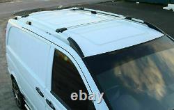 MERCEDES VITO VIANO W639 LONG 2003+ Rails de toit et barres en aluminium