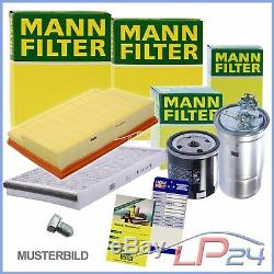 Mann-filter Kit De Révision B Mercedes Vito W-639 110-116 CDI