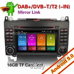 Mercedes Benz Autoradio Android 9.0 A B W169 W245 Viano Vito DAB+TNT BT DVR 2972