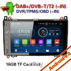 Mercedes Benz Autoradio Android 9.0 W639 Viano W169 W245 A B TNT DAB+TPMS 94992