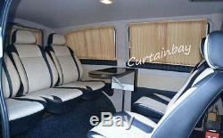 Mercedes Viano Vito 639 rideaux Camping Car Rideau Set Noir