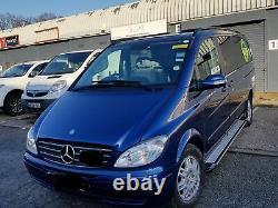 Mercedes Vito Viano V Class Swb Lwb 2003+ Marchepieds En Aluminium Barres