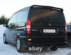 Mercedes Vito/Viano W639 (Pas Compact) Inox Échappement Sport Duplex Type