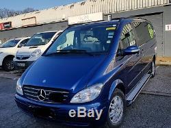 Mercedes Vito Viano W639 Swb Lwb sur 2003+ Marchepied Pas Barre Marche-Pieds