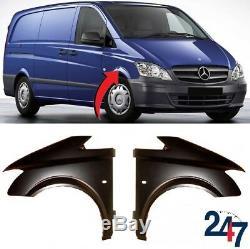 Neuf Mercedes Benz Vito W639 10-15 Aile avant avec Clignotant Trou Gauche Droit