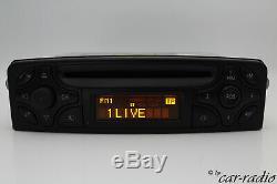 Original Mercedes Audio 10 CD BE4410 Becker Autoradio W203 W209 W463 W639 Radio