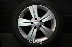 Original Mercedes Classe V Vito w639 Jantes Neuf Pneu D'Hiver 225 55 r17 101V