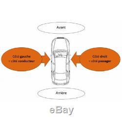 Pare-choc centre/arrière gris Mercedes Viano/Vito W639 2003-2010