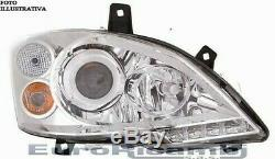 Phare Pour Mercedes Viano/Vito W639 10-14 Xénon D1S/H7 Avec LED Droite