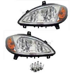 Phares Kit Gauche et Droite H7/H7/H7 pour Mercedes Vito Bus W639 Incl. Lampes