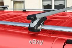 Pour 2014 + Mercedes Vito Viano Toit Aluminium Verrouillage Cross Barres + T