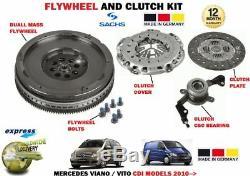 Pour Mercedes Viano Vito Van Bus 2.0 2.2 CDI 2010- Volant+Kit Embrayage + Csc