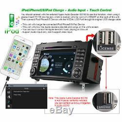 TNT Autoradio GPS DAB+3G DVR Mercedes A B Class W169 Sprinter Viano Vito Crafter