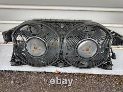 Ventilateur éléctrique double air cond, Mercedes Vito/Viano W 639